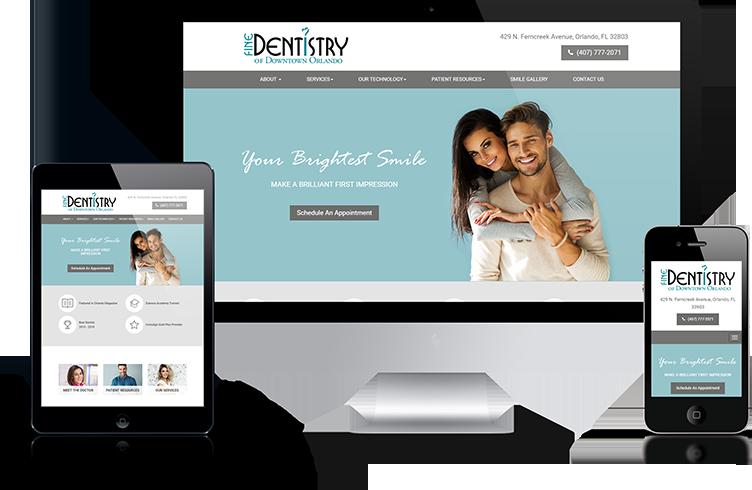 Fine Dentistry of Orlando Dental Website