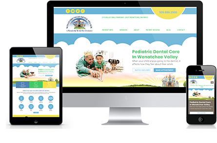 Wenatchee Pediatric Dental Marketing Portfolio