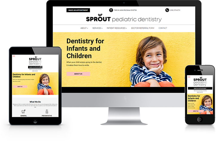 Pediatric Dental Practice marketing in Boise